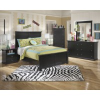 Maribel Dresser, Mirror & Full Panel Bed