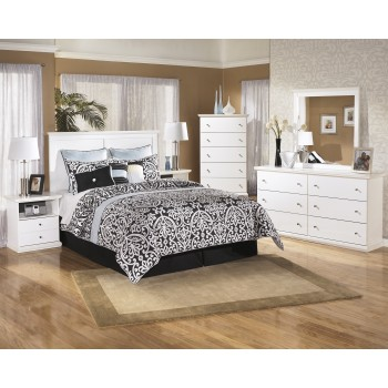 Bostwick Shoals 3 Pc. Bedroom - Dresser, Mirror & Queen/Full Panel Headboard
