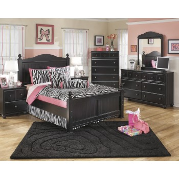Jaidyn Full Poster Bed, Dresser & Mirror