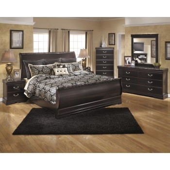 Esmarelda 5 Pc. Bedroom - Dresser, Mirror & Queen Sleigh Bed