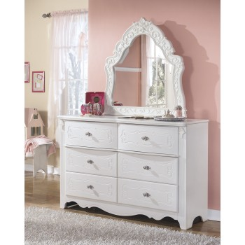 Exquisite Dresser & French Style Mirror