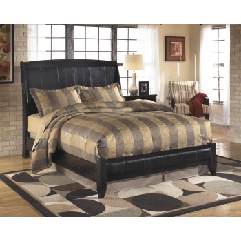 Harmony Queen Platform Style Bed