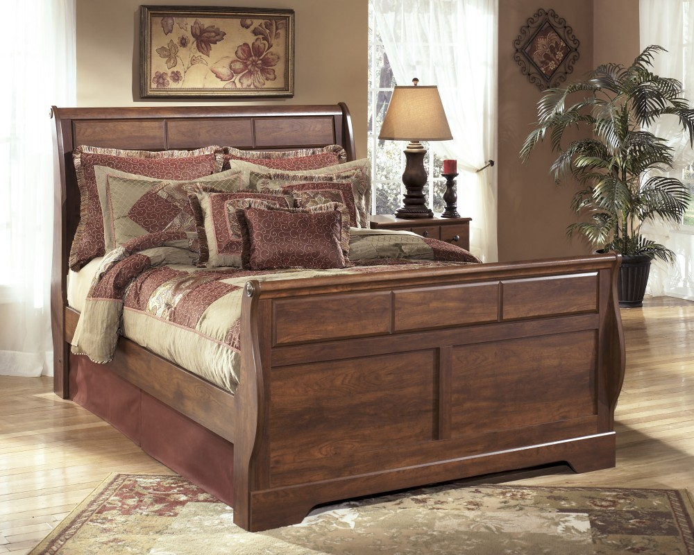 Timberline Queen Sleigh Bed