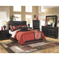 Shay 4 Pc. Bedroom - Dresser, Mirror, Chest & Queen/Full Panel Headboard