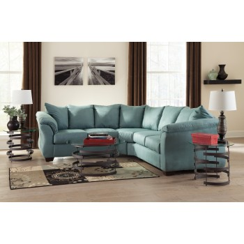 Darcy - Sky 2 Pc. Sectional