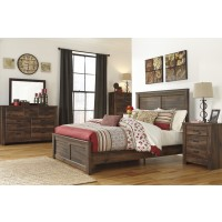 Quinden 5 Pc. Bedroom - Dresser, Mirror & Queen Panel Bed