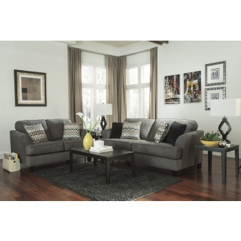 Gayler - Steel - Sofa & Loveseat