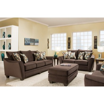 Florence Collection Espresso Sofa