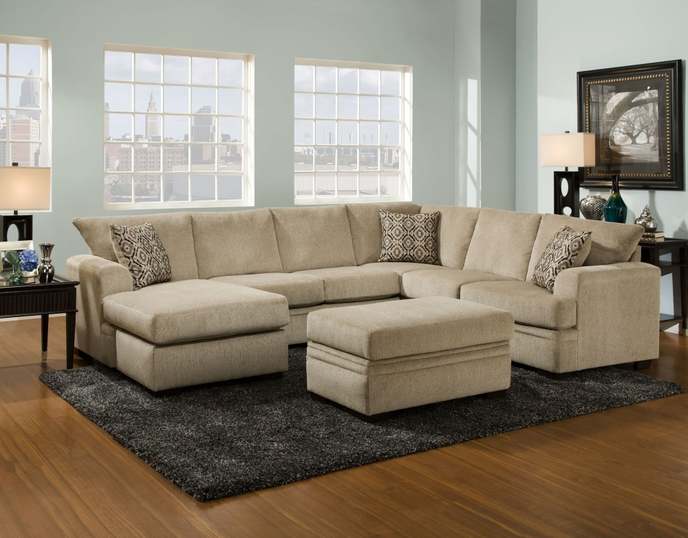 Cornelius Collection Platinum Sectional