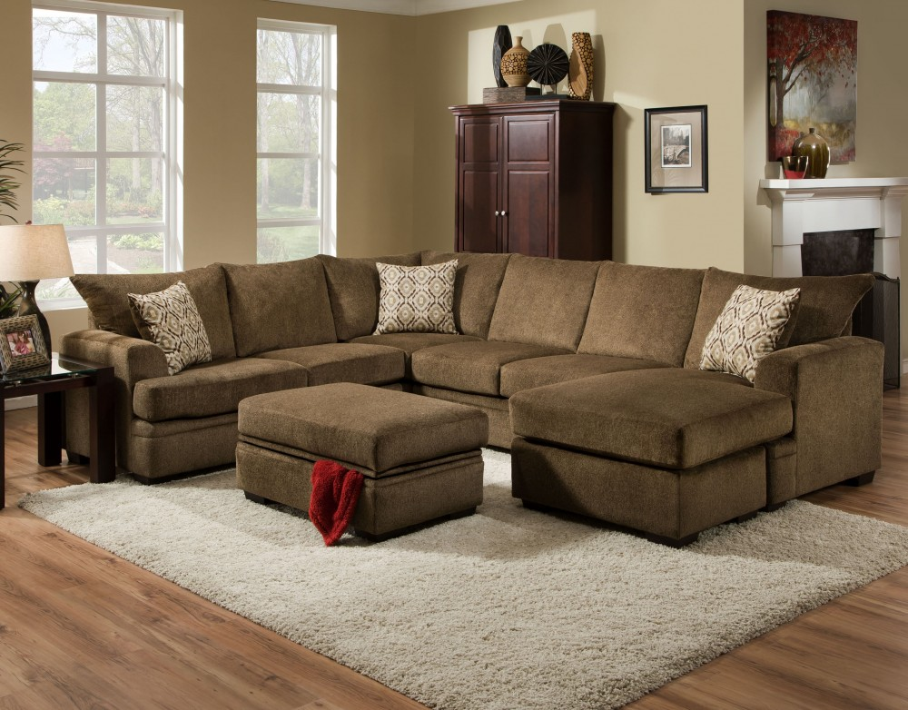 Cornelius Collection Cocoa Sectional