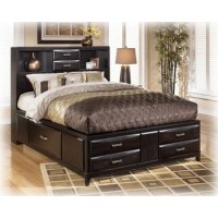 Kira Cal King Bed with Storage
