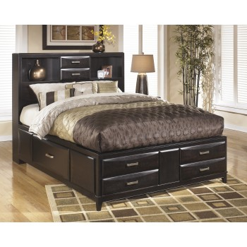 Kira King Bed with Storage