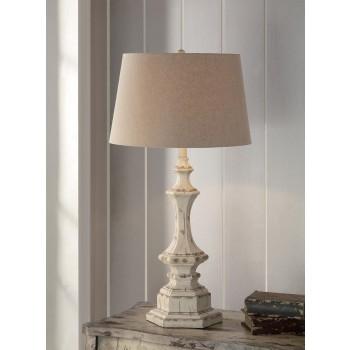 Wooden Column Table Lamp 34