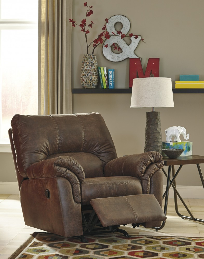 Bladen Coffee Rocker Recliner Bladen