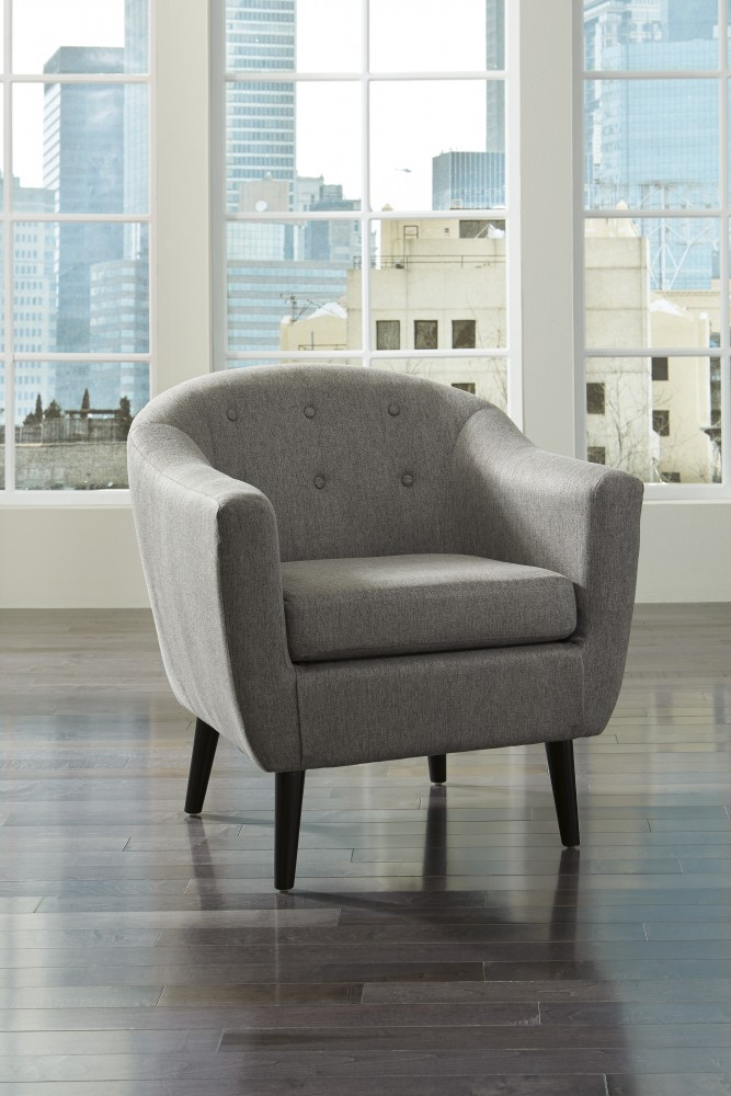 Klorey - Charcoal - Accent Chair