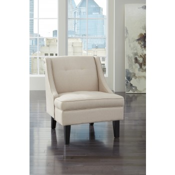 Clarinda - Cream - Accent Chair