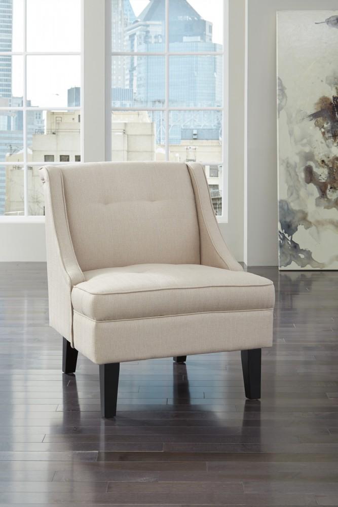 Clarinda - Cream - Accent Chair