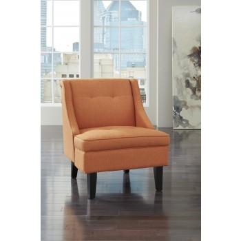 Clarinda - Orange - Accent Chair