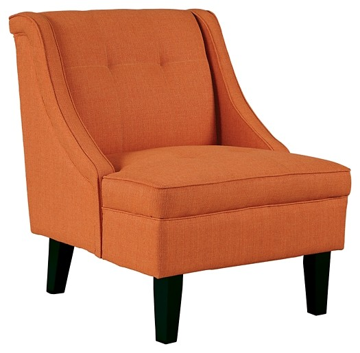 Clarinda - Orange - Accent Chair