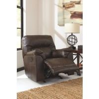 Barrettsville DuraBlend - Chocolate - Rocker Recliner