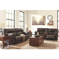 Barrettsville Reclining Loveseat with Console