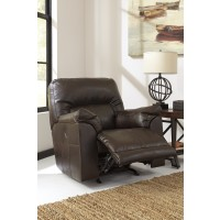 Barrettsville DuraBlend - Chocolate - Power Rocker Recliner