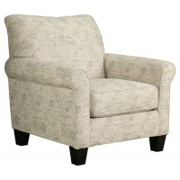 Baveria - Fog - Accent Chair