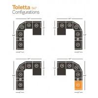 Toletta Right-Arm Facing Power Recliner