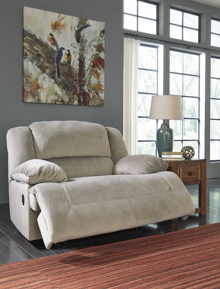 Toletta - Granite - Wide Seat Power Recliner