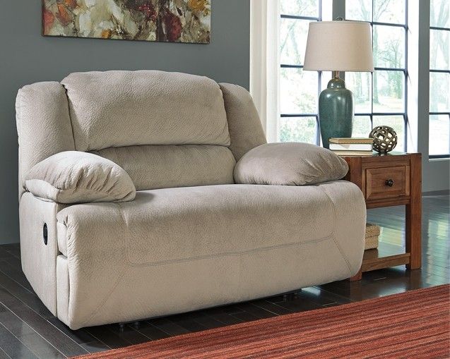 recliner design wall zero products trim power brown threshold austere signature item width height ashley wide by brownzero