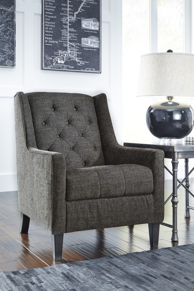 Ardenboro Accents - Charcoal - Accent Chair