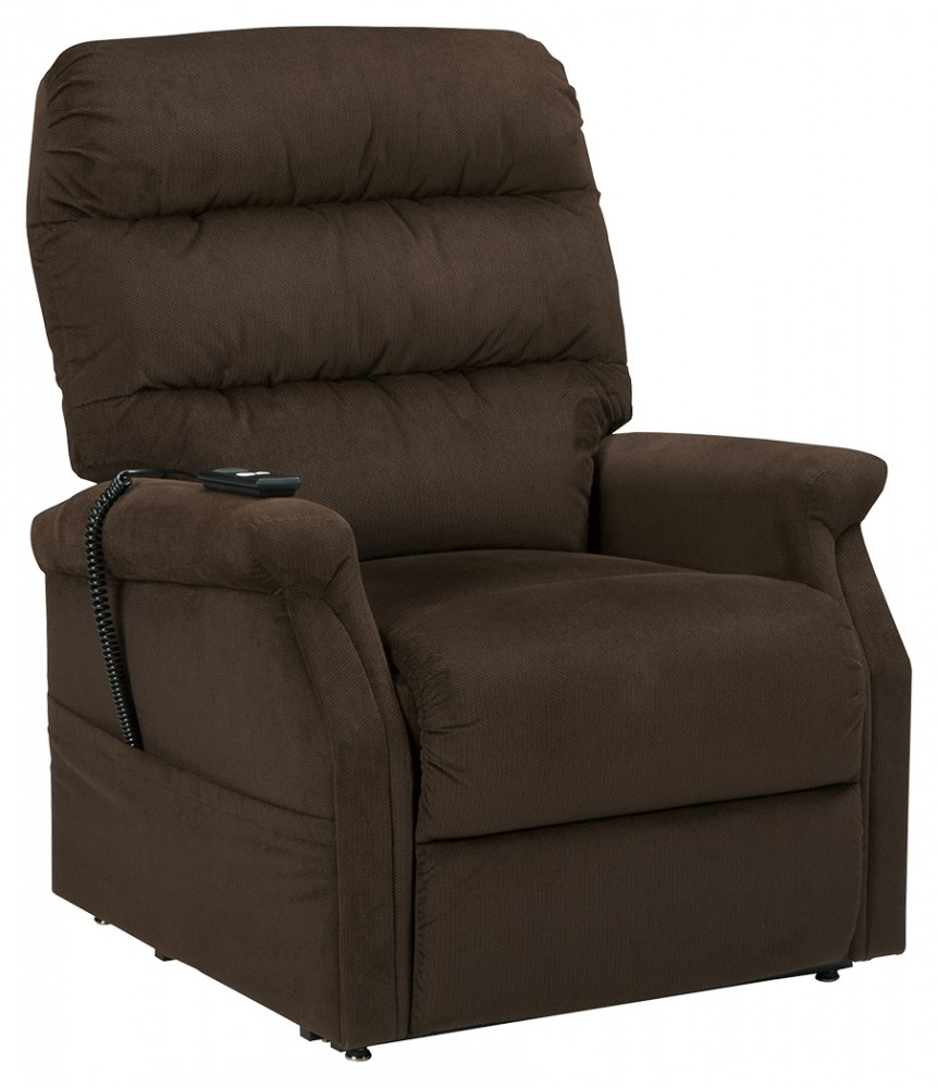 Brenyth chocolate power lift recliner lift chairs for Factory direct furniture