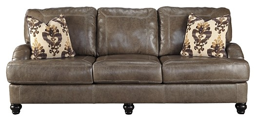Kannerdy - Quarry - Sofa | 8040238 | Leather Sofas | Overstock Outlet US