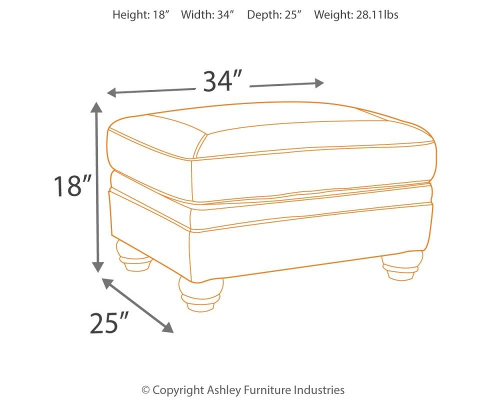Peachy Bristan Walnut Ottoman Unemploymentrelief Wooden Chair Designs For Living Room Unemploymentrelieforg