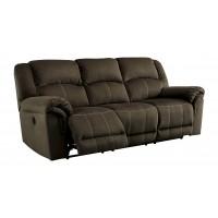 Quinnlyn - Coffee - Reclining Power Sofa