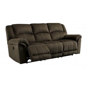 Quinnlyn - Coffee - Reclining Sofa