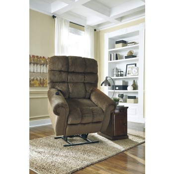 Ernestine - Truffle - Power Lift Recliner