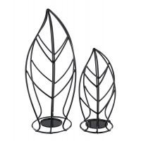 Cadelaria - Black - Candle Holder (Set of 2)