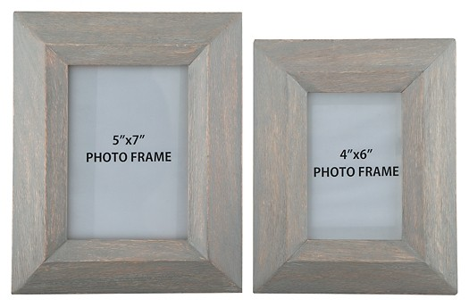 Cadewyn - Gray - Photo Frame (Set of 2)