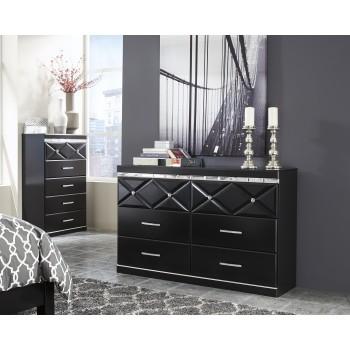 Fancee - Black - Dresser