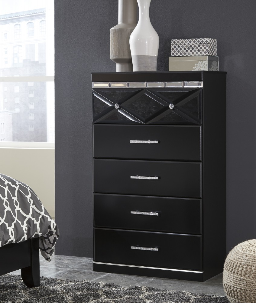 Hemnes Chest Of 6 Drawers Smooth Running With Pull Out Stop