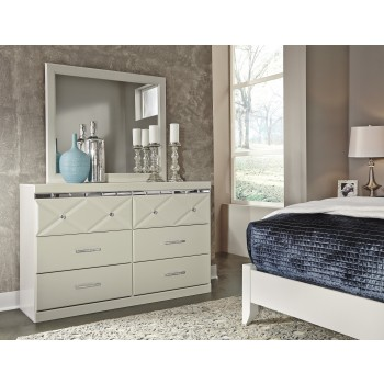 Dreamur - Champagne - Bedroom Mirror