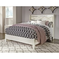 Dreamur - Champagne - Queen Panel Footboard w/Rails