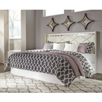 Dreamur - Champagne - King/Cal King Panel Headboard