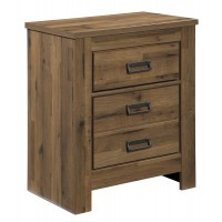 Cinrey - Medium Brown - Two Drawer Night Stand