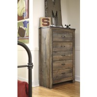 Trinell - Brown - Five Drawer Chest