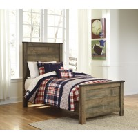 Trinell - Brown - Twin Panel Headboard