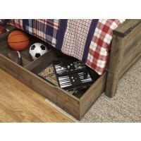 Trinell - Brown - Under Bed Storage