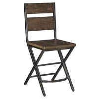 Kavara - Medium Brown - Barstool (2/CN)