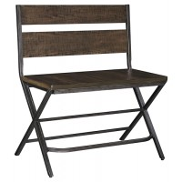 Kavara - Medium Brown - Double Barstool (1/CN)